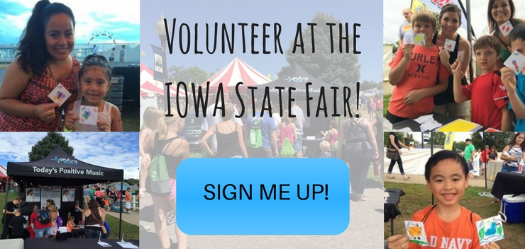 Volunteer at the Iowa State Fair